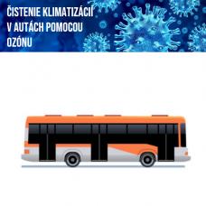 Čistenie klimatizácie ozónom  (autobus nad 12 miest)