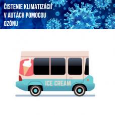 Čistenie klimatizácie ozónom (dodávka 7-12 miest)