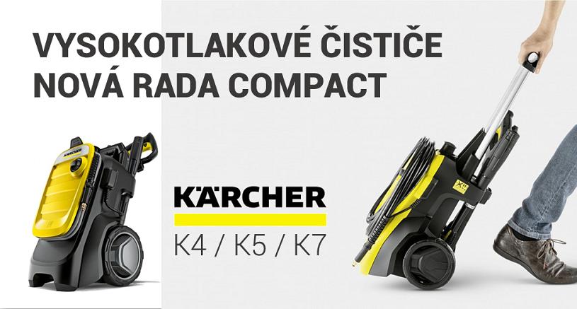 Karcher trieda compact vysokotlakové čističe