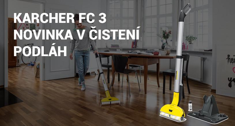 Karcher FC 3 podlahový čistič