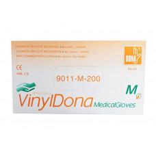 Jednorázové vinylové rukavice DONA M 200 ks