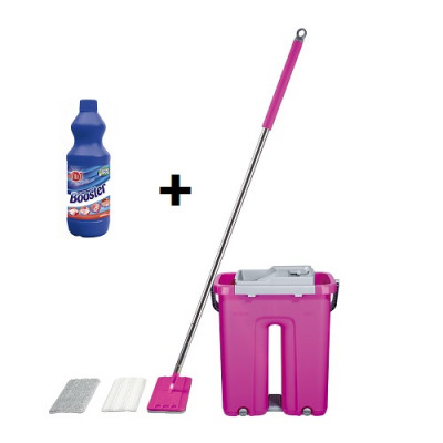 Super Mop Set + BOOSTER bielidlo 1 liter