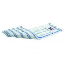 SPRINTUS mop z mikrovlákna Premium, 40 cm, bielo-modrý