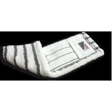 SPRINTUS mop z mikrovlákna Shark, 40 cm, bielo-šedý