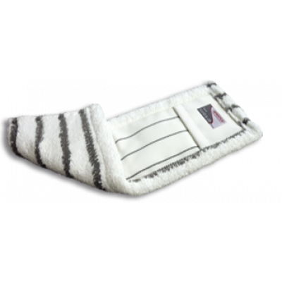 SPRINTUS mop z mikrovlákna Shark, 50 cm, bielo-šedý